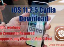 iOS 11.2.5 Cydia Installer