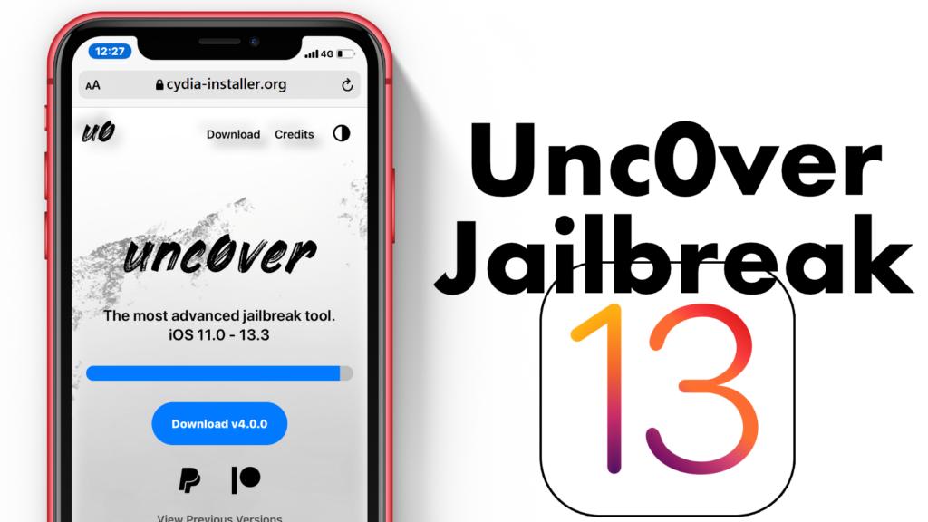 Uncover Jailbreak iOS 13.3.1