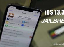 iOS 13.3.1 Jailbreak